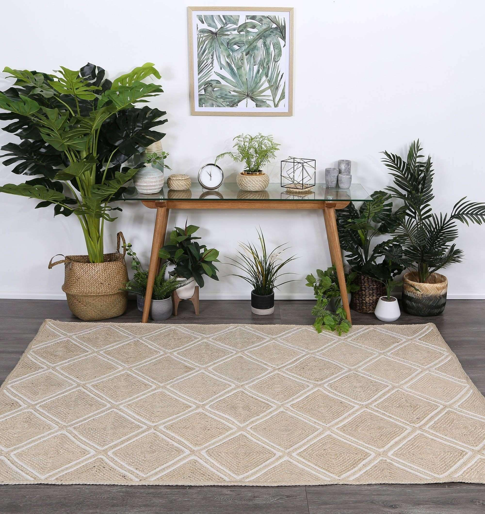 Cameron Natural Parquetry Pearl Rug, [cheapest rugs online], [au rugs], [rugs australia]