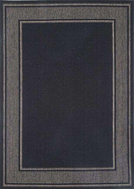 Capella Black Bordered Line Pattern Rug, [cheapest rugs online], [au rugs], [rugs australia]