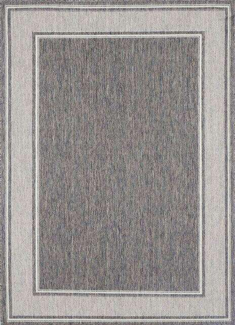 Capella Brown Beige Outdoor Bordered Rug, [cheapest rugs online], [au rugs], [rugs australia]