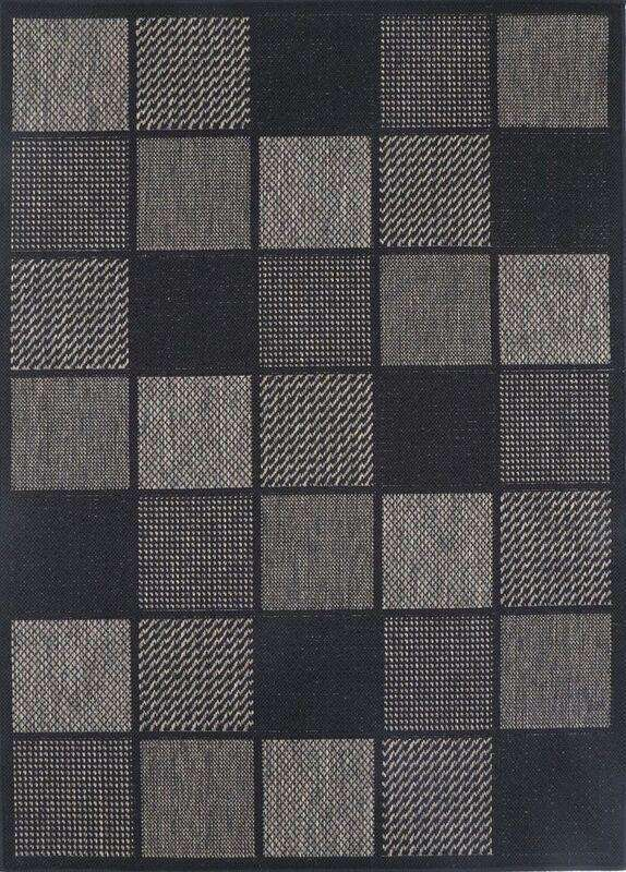 Capella Grey Square Shape Patterned Ikat Rug, [cheapest rugs online], [au rugs], [rugs australia]