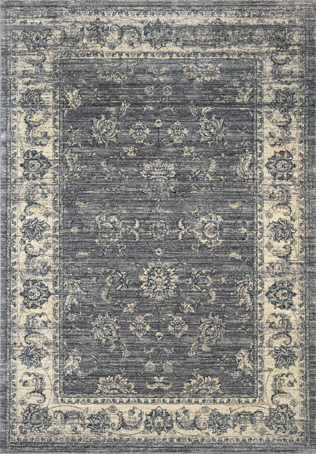 Casper Classic Border Transitional Design Grey Rug, [cheapest rugs online], [au rugs], [rugs australia]