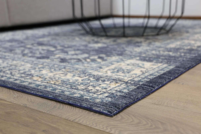 Casper Classic Transitional Design Navy Rug, [cheapest rugs online], [au rugs], [rugs australia]