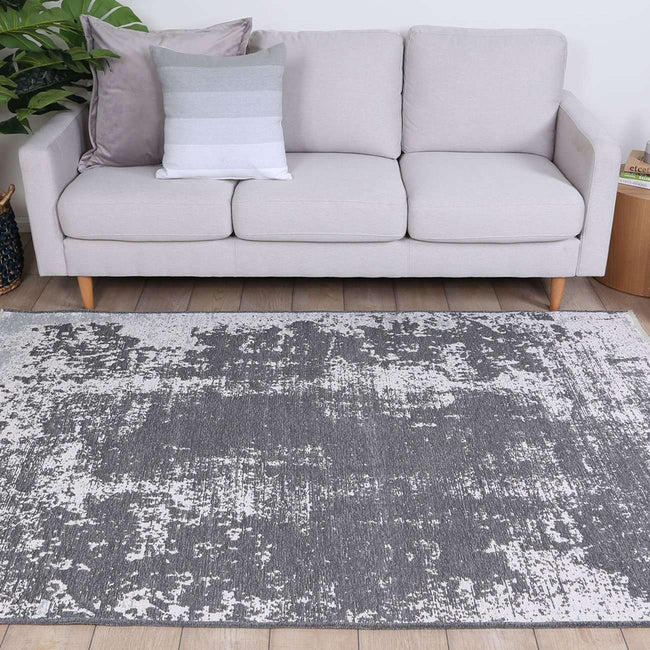 Century Abstract Fully Reversible Rug Grey, [cheapest rugs online], [au rugs], [rugs australia]