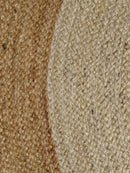 Dot Border Jute Round Natural Rug, [cheapest rugs online], [au rugs], [rugs australia]