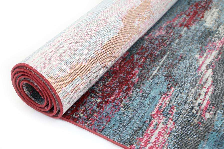 Dreamscape Multicoloured Horizontal Ribbon Stripes, [cheapest rugs online], [au rugs], [rugs australia]