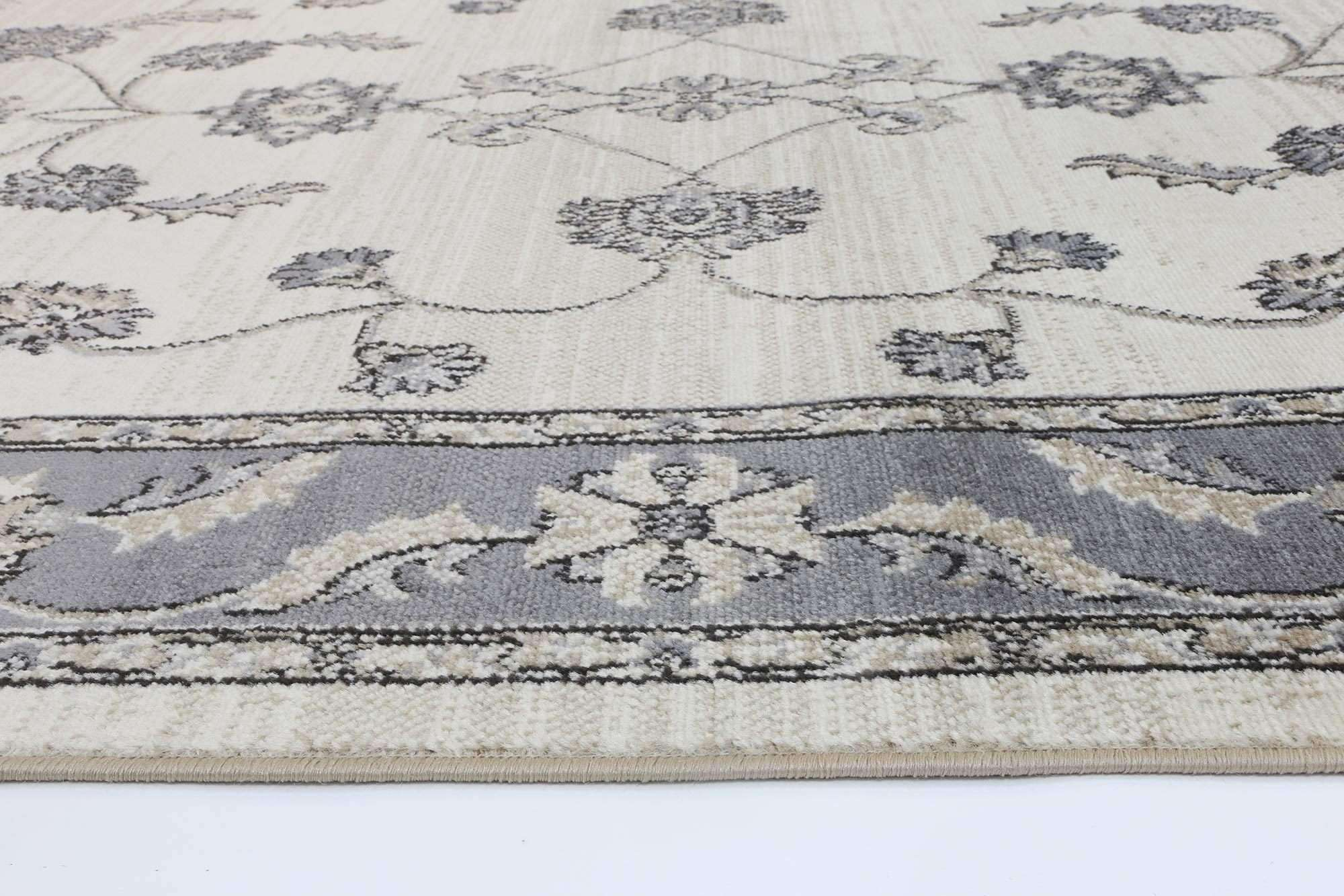 Eden Cream and Grey Traditional Rug, [cheapest rugs online], [au rugs], [rugs australia]