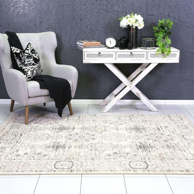 Eden Cream ZieglerTraditional Ikat Rug, [cheapest rugs online], [au rugs], [rugs australia]