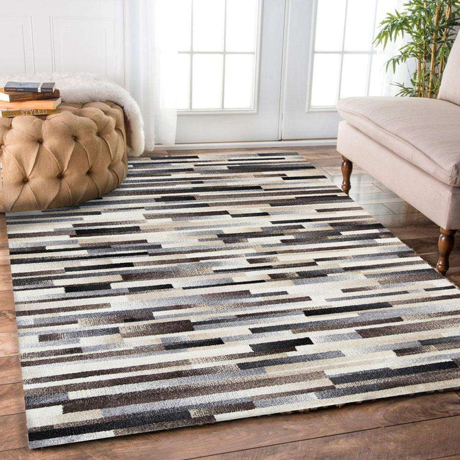 Ella Cream Line Patterned Rug, [cheapest rugs online], [au rugs], [rugs australia]