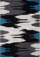 Ella Grey and Blue Abstract Rug, [cheapest rugs online], [au rugs], [rugs australia]