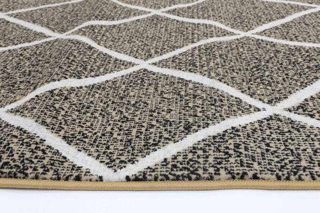 Emory Beige and Cream Cross Diamond Rug, [cheapest rugs online], [au rugs], [rugs australia]