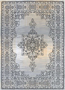 Emory Beige and Grey Transitional Medallion Rug, [cheapest rugs online], [au rugs], [rugs australia]