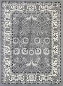 Emory Grey Traditional Boarder Rug, [cheapest rugs online], [au rugs], [rugs australia]