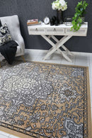 Emory Light Grey and Beige Distressed Vintage Rug, [cheapest rugs online], [au rugs], [rugs australia]