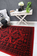 Emory Red Afghan Khal Rug, [cheapest rugs online], [au rugs], [rugs australia]