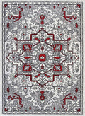Emory Red and Gray Distressed Vintage Rug, [cheapest rugs online], [au rugs], [rugs australia]