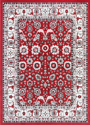 Emory Red Traditional Boarder Design Rug, [cheapest rugs online], [au rugs], [rugs australia]