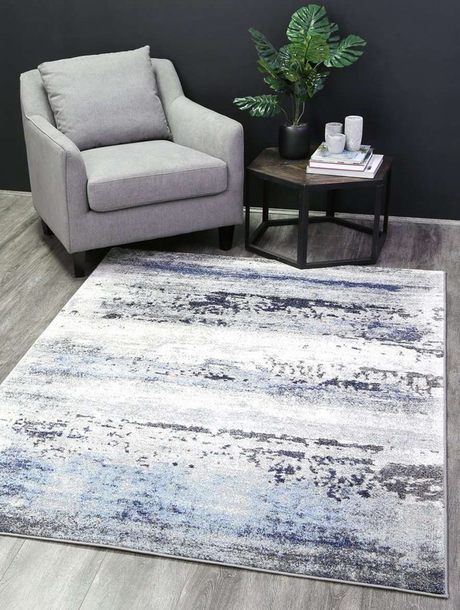 Everly Blue Water Colours Rug, [cheapest rugs online], [au rugs], [rugs australia]