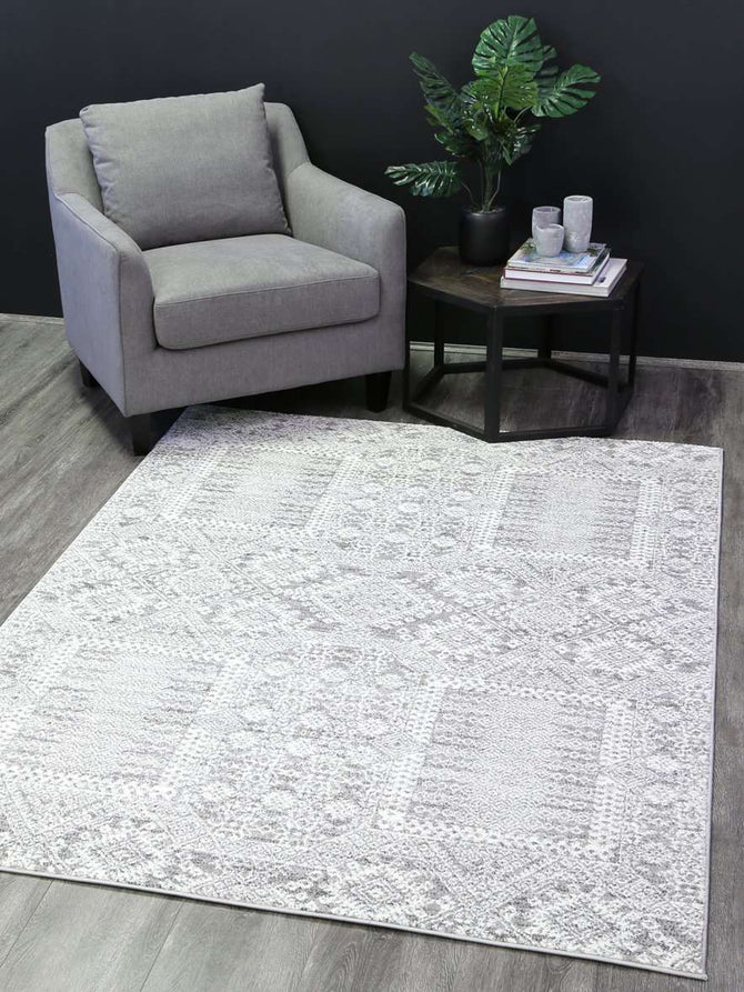 Everly Grey Cream Distressed Modern Rug, [cheapest rugs online], [au rugs], [rugs australia]