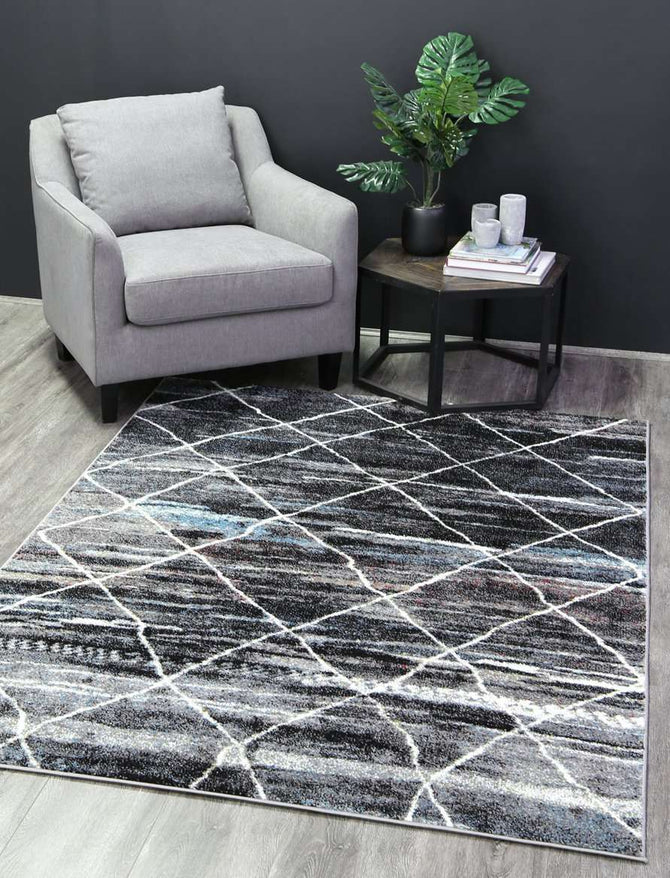 Everly Grey Moroccan Trellis Rug, [cheapest rugs online], [au rugs], [rugs australia]