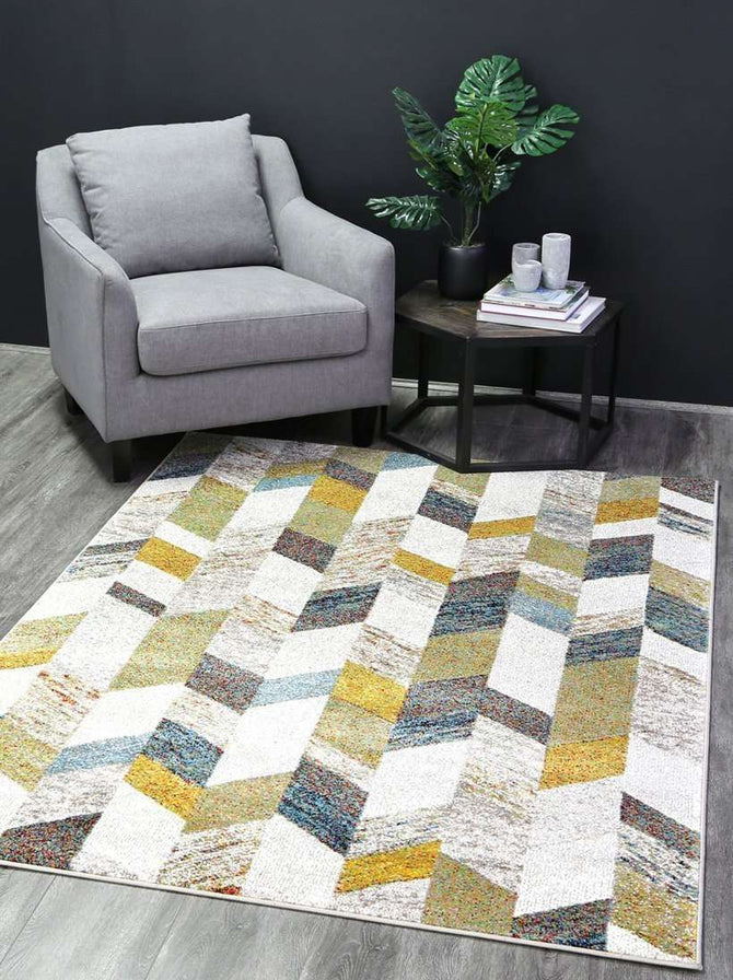 Everly Multi Colour Modern Zane Abstract Rug, [cheapest rugs online], [au rugs], [rugs australia]
