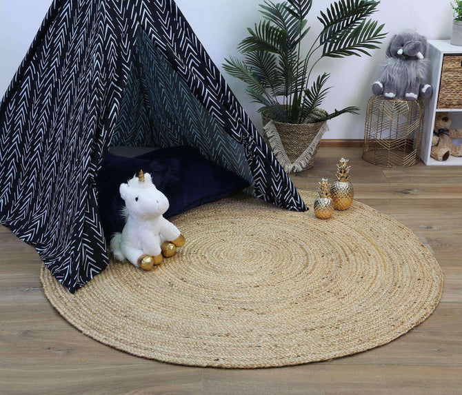 Faro Natural Jute Round Rug, [cheapest rugs online], [au rugs], [rugs australia]