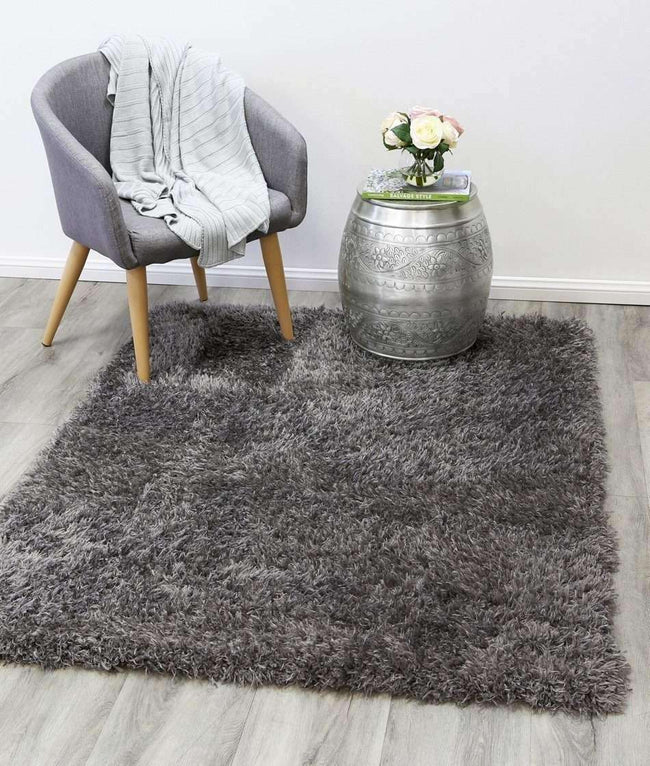 Flokati Super Soft Ultra Thick Charcoal Rug, [cheapest rugs online], [au rugs], [rugs australia]