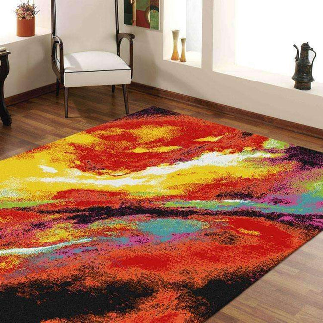 Gemini Modern Collection 7433 Multi Rug, [cheapest rugs online], [au rugs], [rugs australia]