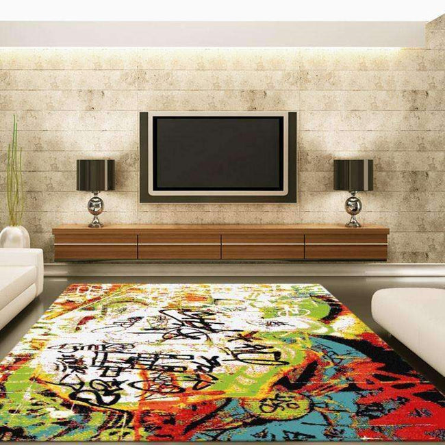 Gemini Modern Collection 7615 Multi Rug, [cheapest rugs online], [au rugs], [rugs australia]