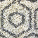 Hermitance Patterned Shag 046 Cream Rug, [cheapest rugs online], [au rugs], [rugs australia]
