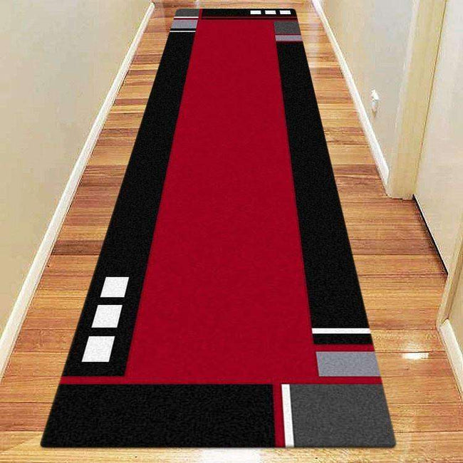 Icon Modern Collection 051 Red Runner Rug, [cheapest rugs online], [au rugs], [rugs australia]