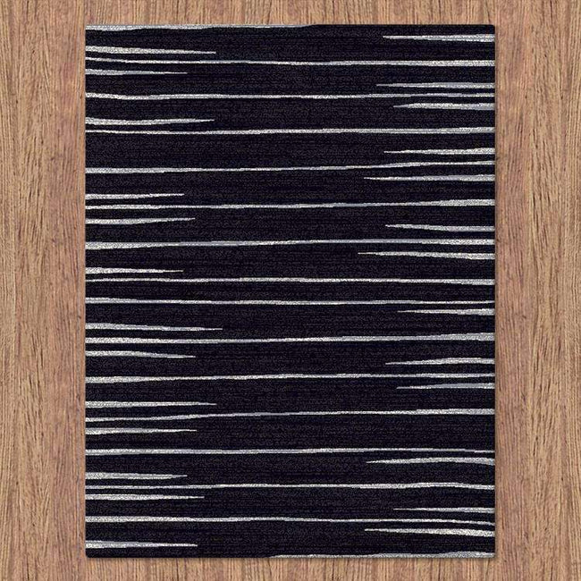 Icon Modern Collection 369 Black Rug, [cheapest rugs online], [au rugs], [rugs australia]