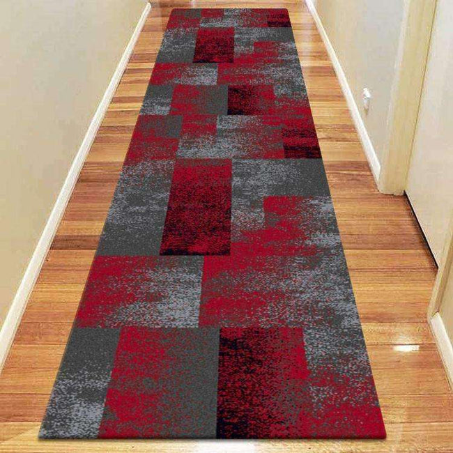 Icon Modern Collection 444 Red Runner Rug, [cheapest rugs online], [au rugs], [rugs australia]