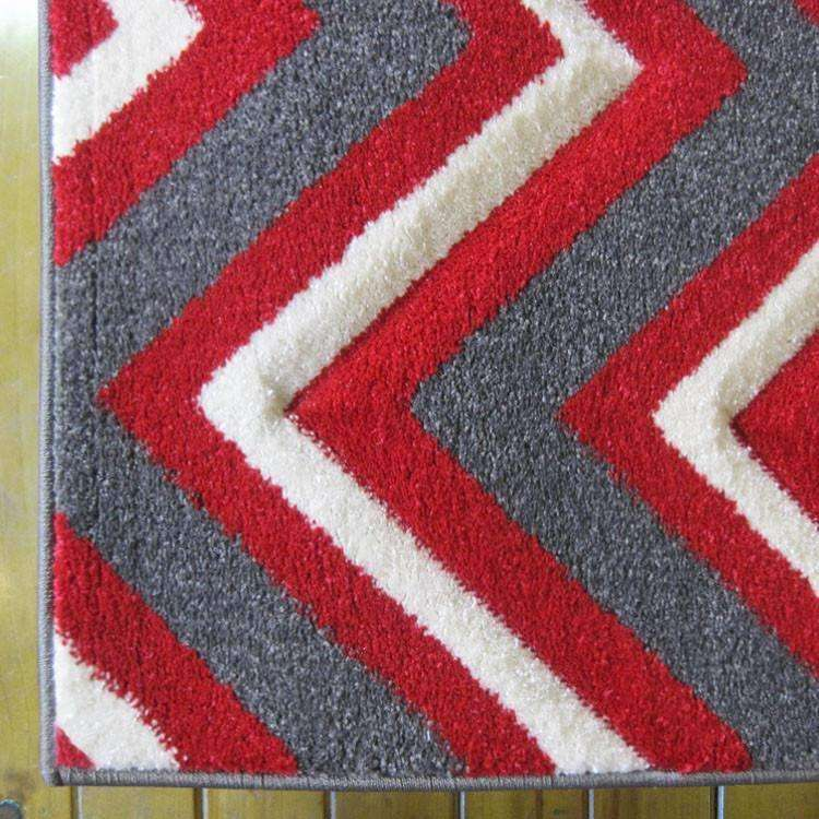 Icon Modern Collection 554 Red Rug, [cheapest rugs online], [au rugs], [rugs australia]