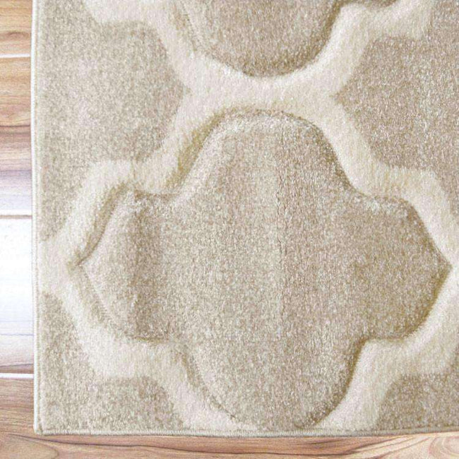 Icon Modern Collection 742 Beige Runner Rug, [cheapest rugs online], [au rugs], [rugs australia]