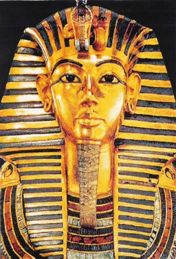 Iconic Tutankhamun Picture Modern Rug, [cheapest rugs online], [au rugs], [rugs australia]
