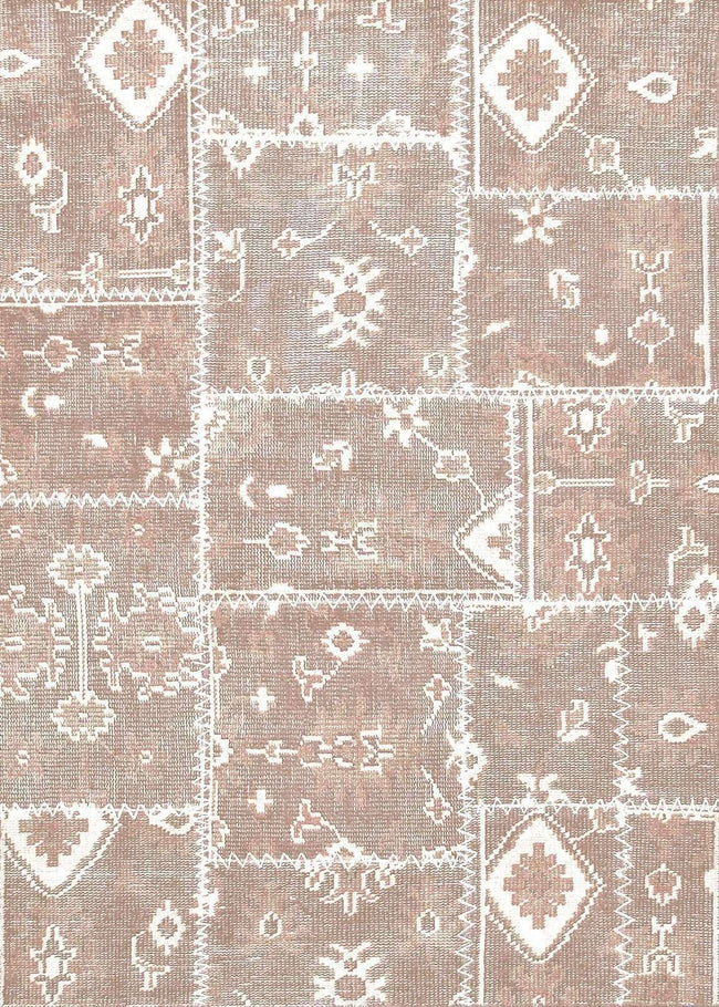 Kelim Antiquity Pure Wool Patchwork 910 Rose Rug, [cheapest rugs online], [au rugs], [rugs australia]