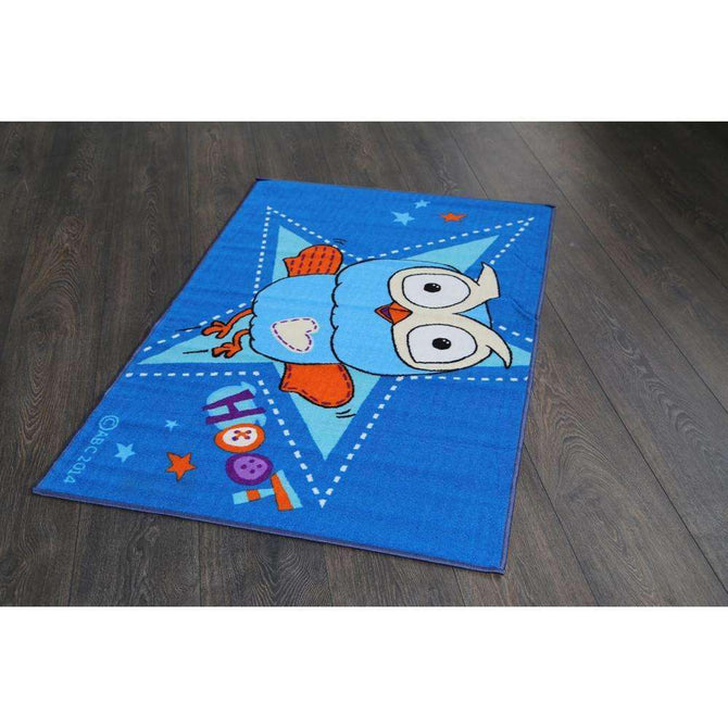 Kids Hoot Stars Fun Play Rug, [cheapest rugs online], [au rugs], [rugs australia]