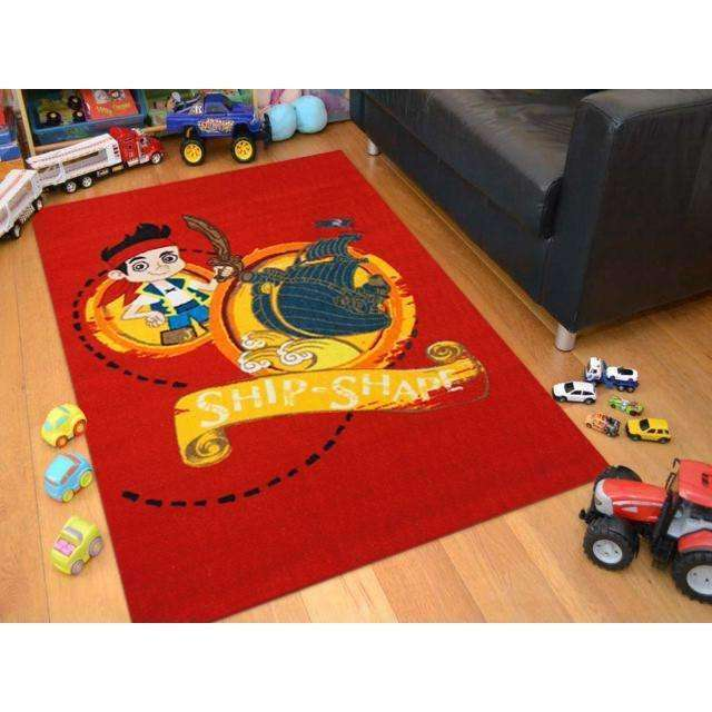 Kids Jake Ship Shape Fun Play Rug, [cheapest rugs online], [au rugs], [rugs australia]