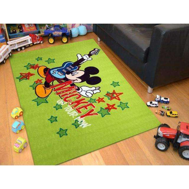 Kids Mickey Guitar Fun Play Rug, [cheapest rugs online], [au rugs], [rugs australia]
