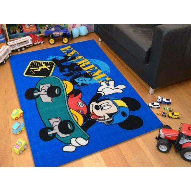 Kids Mickey Skate Fun Play Rug, [cheapest rugs online], [au rugs], [rugs australia]