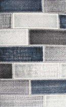 Kingston Modern Blue Textured Pile Rug, [cheapest rugs online], [au rugs], [rugs australia]