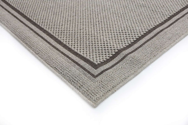 Landscape Light Gray Bordered Rug, [cheapest rugs online], [au rugs], [rugs australia]