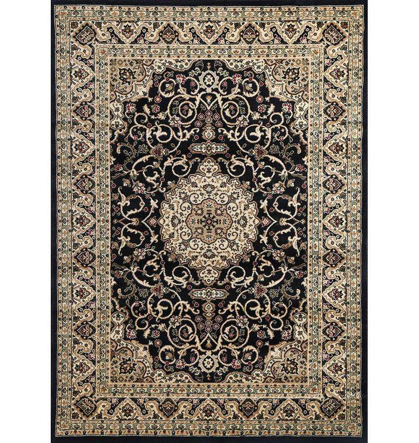 Lavish Traditional Collection 600 Black, [cheapest rugs online], [au rugs], [rugs australia]