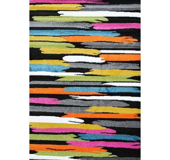 Liberty Abstract Black Multi Rug, [cheapest rugs online], [au rugs], [rugs australia]
