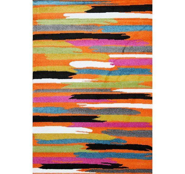 Liberty Abstract Orange Multi Rug, [cheapest rugs online], [au rugs], [rugs australia]