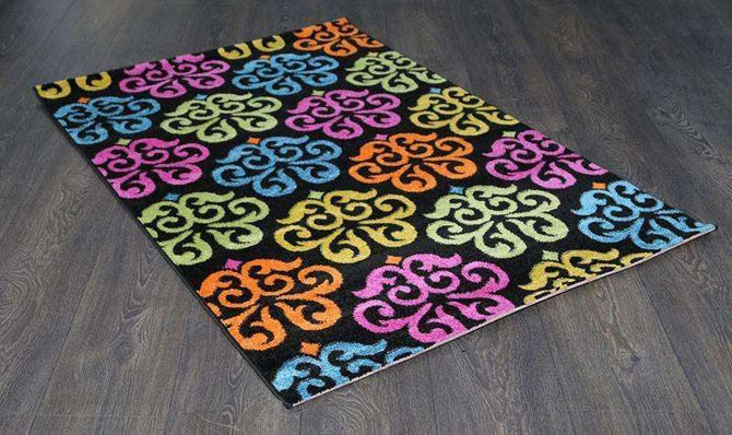 Liberty Beautiful Black Multi Rug, [cheapest rugs online], [au rugs], [rugs australia]