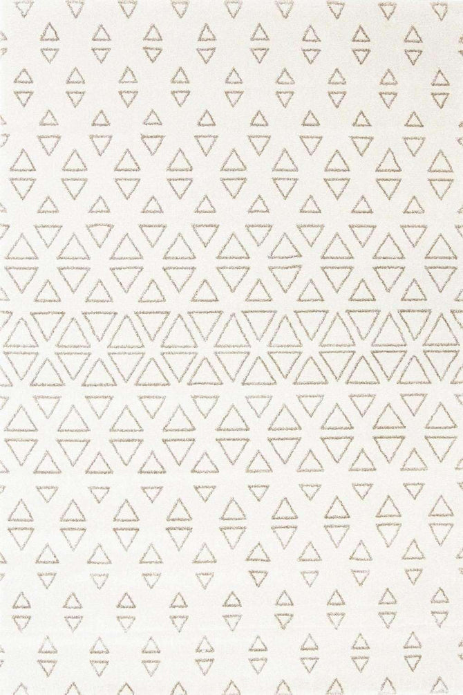 Milan Modern Collection 1561 Cream Rug, [cheapest rugs online], [au rugs], [rugs australia]