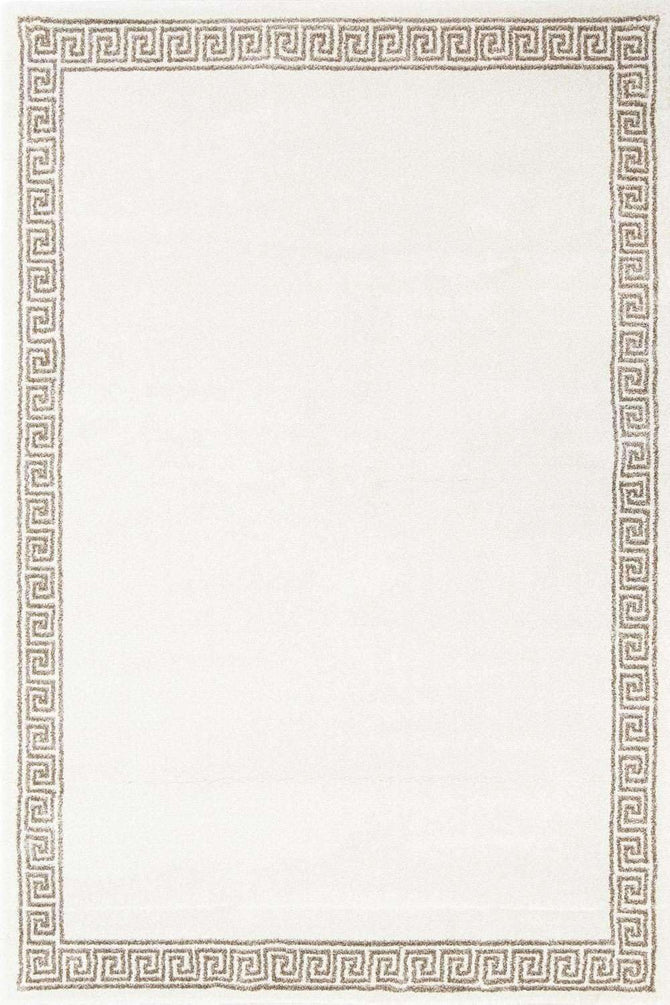 Milan Modern Collection 1562 Cream Rug, [cheapest rugs online], [au rugs], [rugs australia]