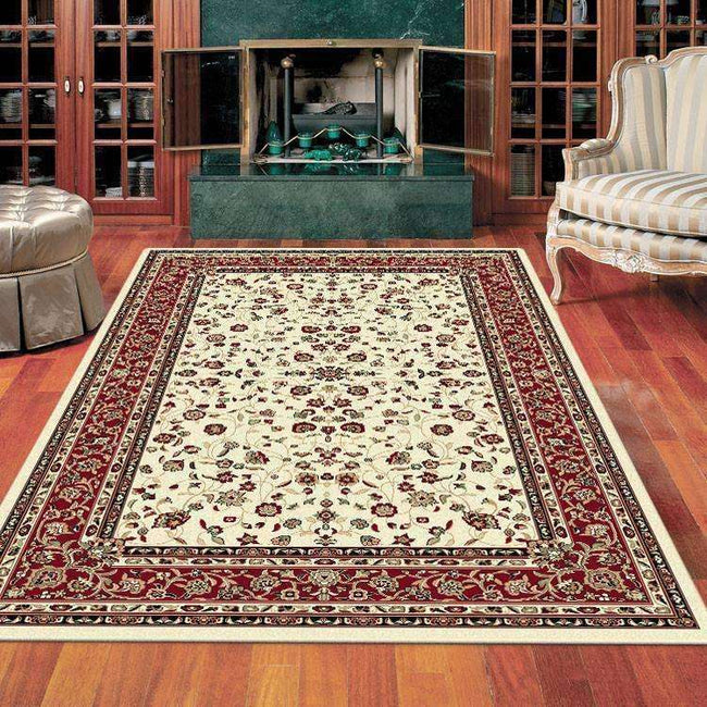 Mystique Traditional 7146 Cream Rug, [cheapest rugs online], [au rugs], [rugs australia]