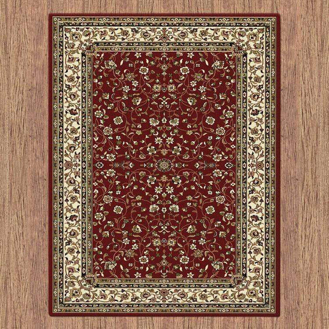 Mystique Traditional 7146 Red Rug, [cheapest rugs online], [au rugs], [rugs australia]